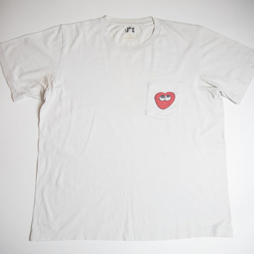 Kaws x Uniqlo Heart Pocket Tee (Large / USED)