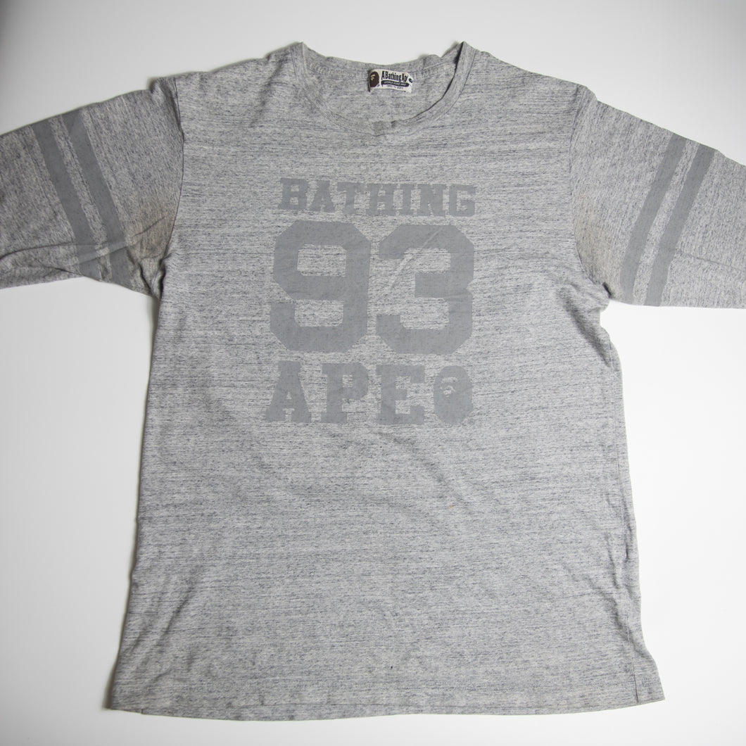 Bape Bathing 93 3/4 Sleeve Tee (XL / USED)
