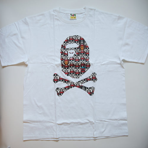 Bape Pirate Baby Milo Ape Head Tee (XXL / MINT)