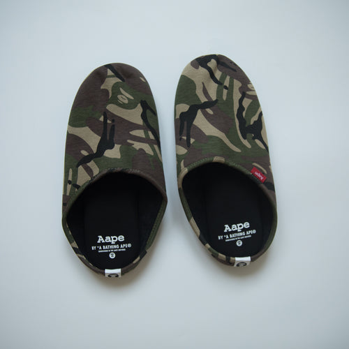 Aape Green Camo Slipper (MINT)