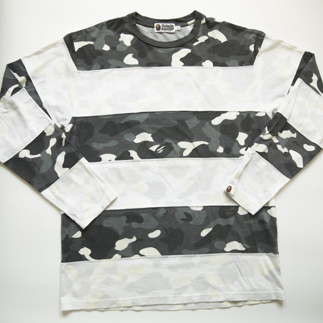 Bape City Camo GITD Long Sleeve Tee (XL / USED)