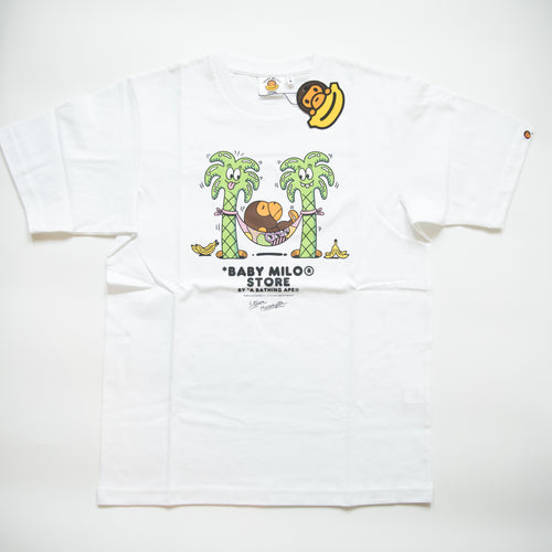 Bape Baby Milo x Steven Harrington x SneakerCon Guangzhou Tee (Small / MINT)