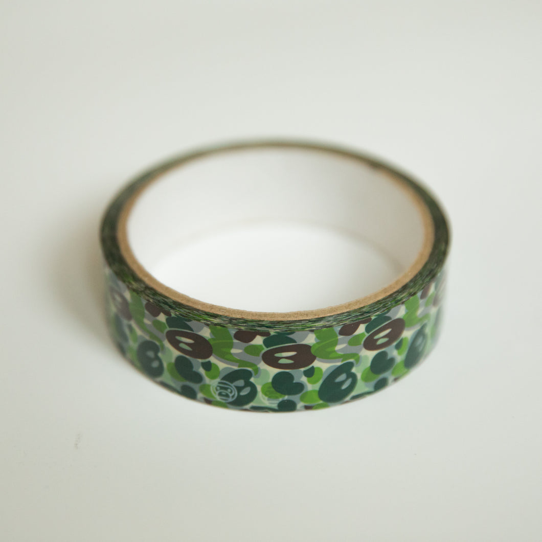 Bape Baby Milo Green Camo Tape (MINT)