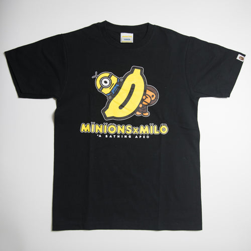 Bape x Despicable Me Minion Baby Milo Tee (Small / USED)