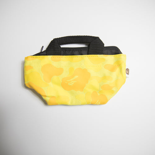 Bape Yellow Camo Pouch (MINT)