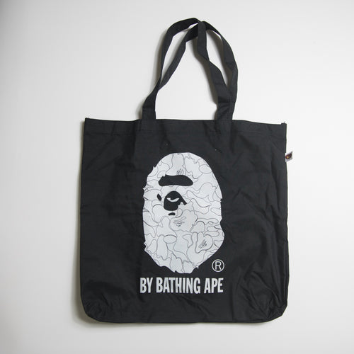 Bape Camo Ape Head Tote Bag Black (MINT)