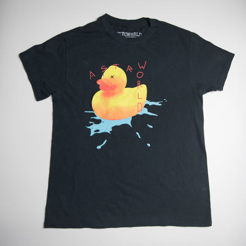 Travis Scott AstroWorld London Rubber Duck Tee (Small / USED)