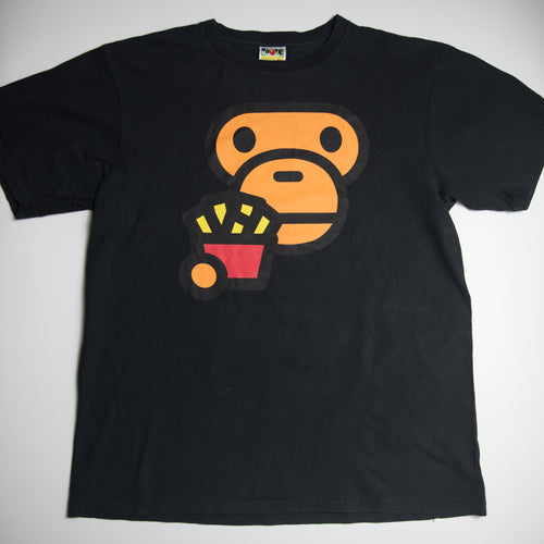 Bape Baby Milo French Fries Tee (XL / USED)