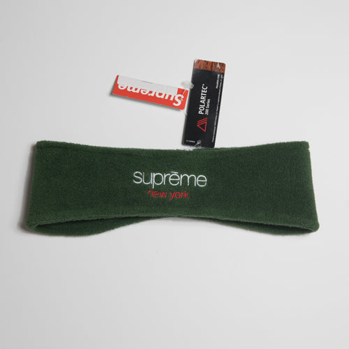 Supreme Polartec Headband Dark Green (MINT)