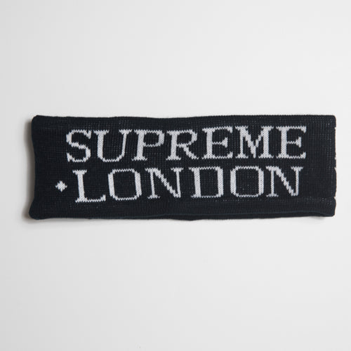 Supreme International Headband Black (MINT)