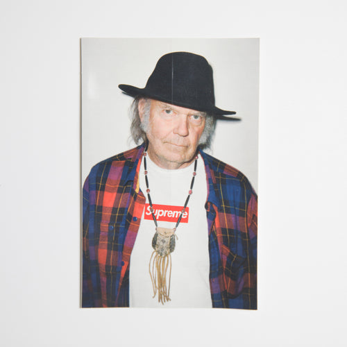 Supreme Neil Young Sticker (MINT)