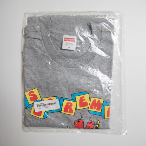 Supreme Dynamite Tee Grey (Medium / NEW)