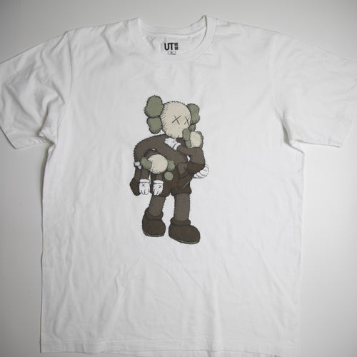 Kaws x Uniqlo Clean Slate Tee White (XL / USED)