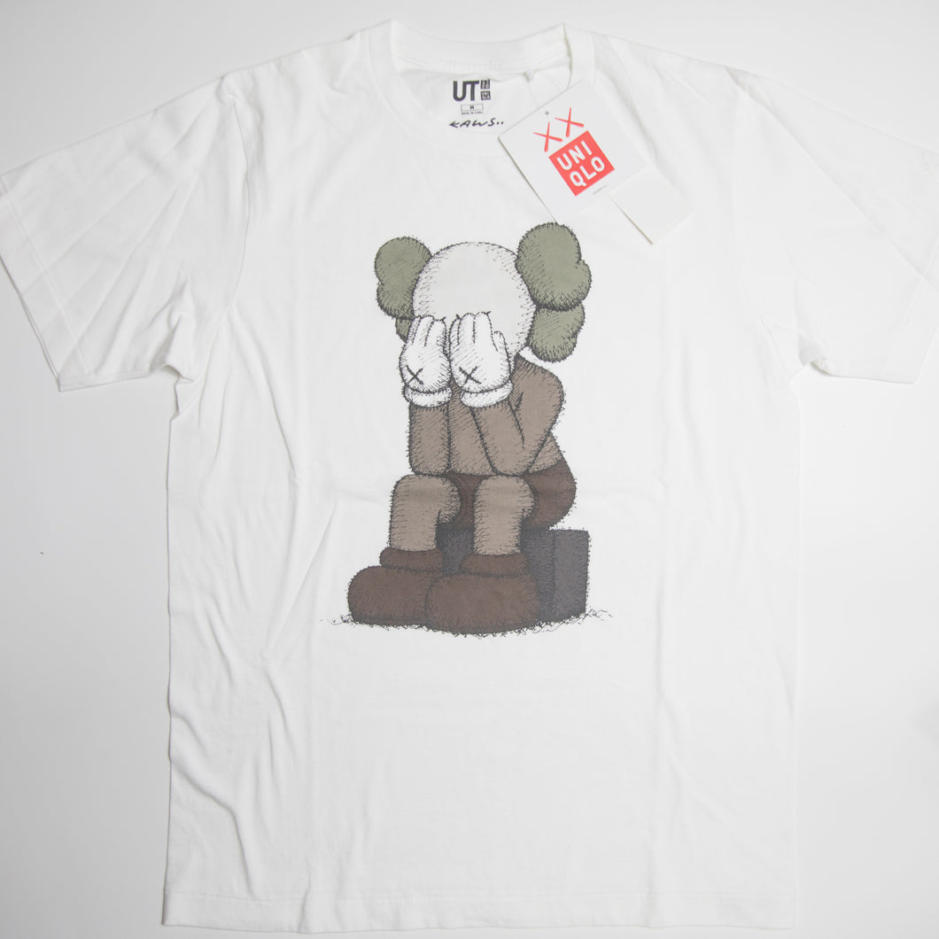 Kaws x Uniqlo Passing Through Companion Tee (Multiple Sizes / MINT)