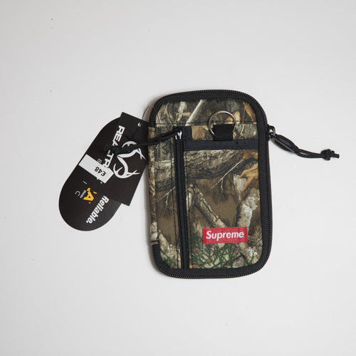 Supreme Small Zip Pouch Realtree Camo (MINT)