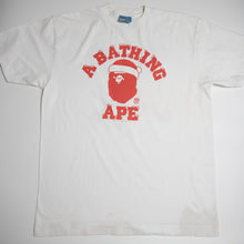 Bape Santa College Tee (Large / USED)