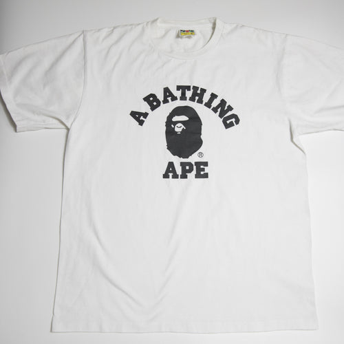 Bape College Tee (XL / USED)