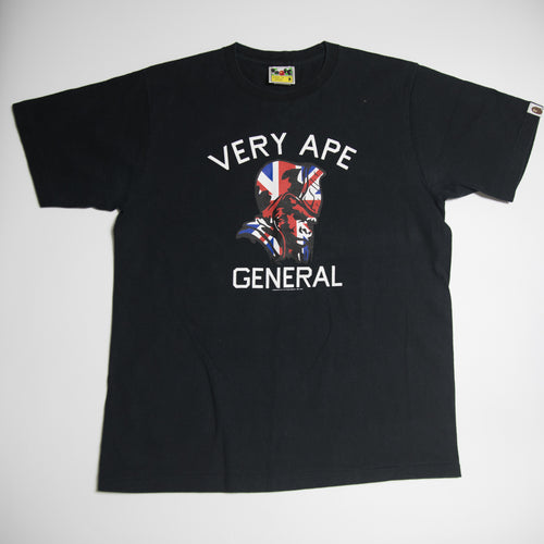 Bape General Union Jack Tee (Medium / USED)