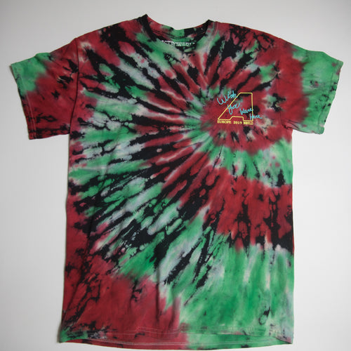 Travis Scott Astroworld London Tie-Dye Tee (Medium / USED)