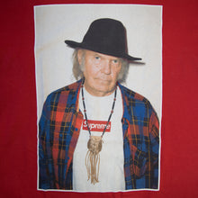 Supreme Neil Young Tee Red (Medium / USED)