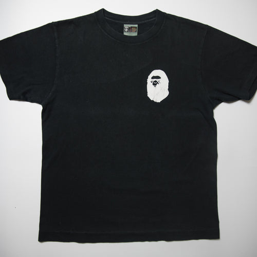 Bape x Kaws Ape Head Tee (Medium / USED)