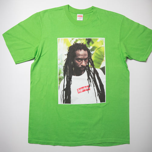 Supreme Buju Banton Tee Green (Medium / USED)