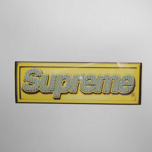 Supreme Bling Box Logo Sticker (MINT)