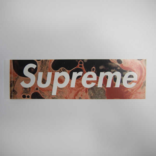 Supreme Blood & Semen Box Logo Sticker (MINT)
