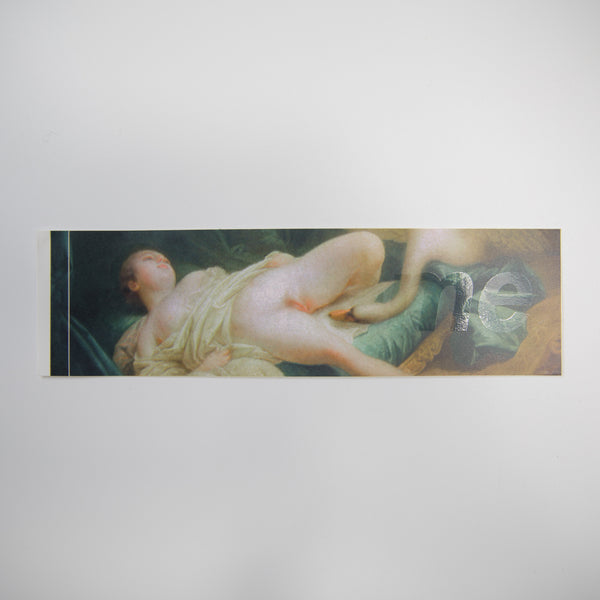Supreme Leda And The Swan Box Logo Sticker (MINT)