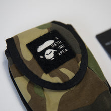 Bape Green Camo Pouch (USED)