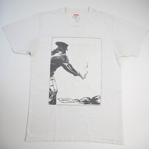 Supreme x Raymond Pettibon Tee White (Medium / USED)