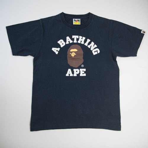 Bape College Tee (Small / USED)