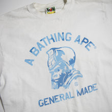 Bape General Blue Bapesta Tee (Medium / USED)