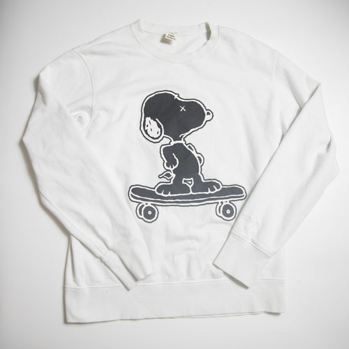 Kaws x Peanut Snoopy Uniqlo Skateboard Sweatshirt (Medium / USED)
