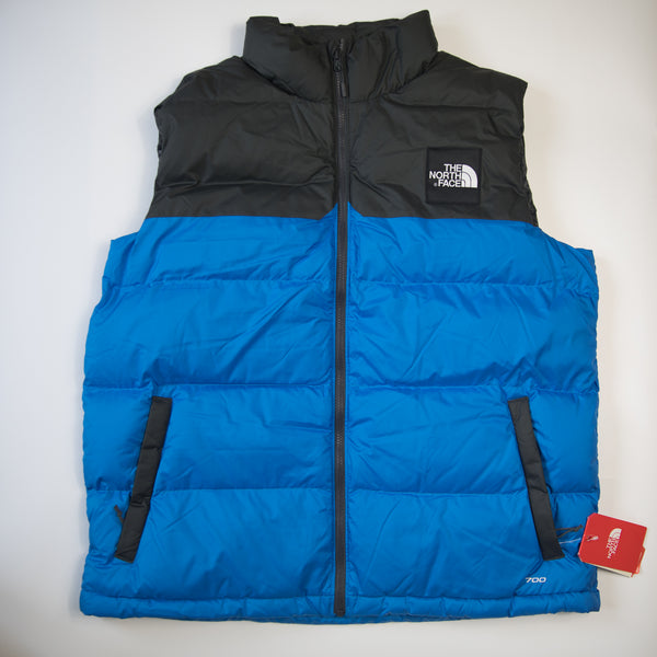 The North Face 1992 Nuptse Vest Gilet Blue (XL / MINT)
