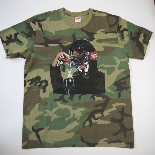 Supreme Creeper Tee Camo (Large / USED)
