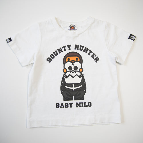 Bape Kids x Bounty Hunter Baby Milo Tee (90cm / USED)