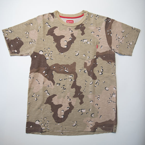 Supreme Desert Camo Pocket Tee (Small / USED)