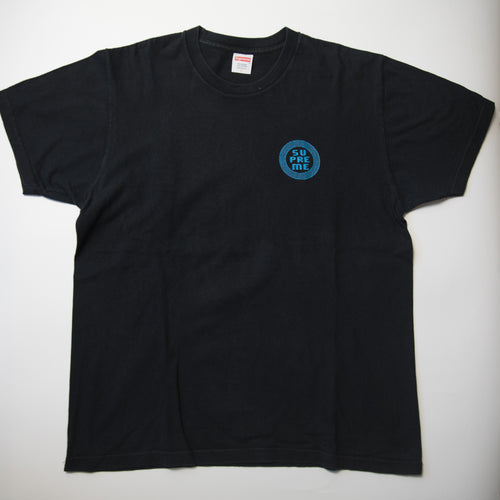Supreme Disrupt Tee Navy (Large / USED)