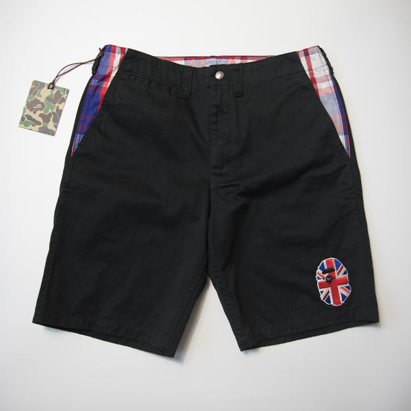 Bape Union Jack Ape Head Shorts (Large / MINT)