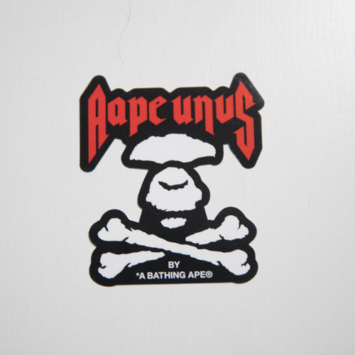 Aape Crossbones Sticker (MINT)