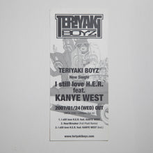 Bape x Kanye West x Teriyaki Boyz I Still Love H.E.R. Sticker Sheet (MINT)