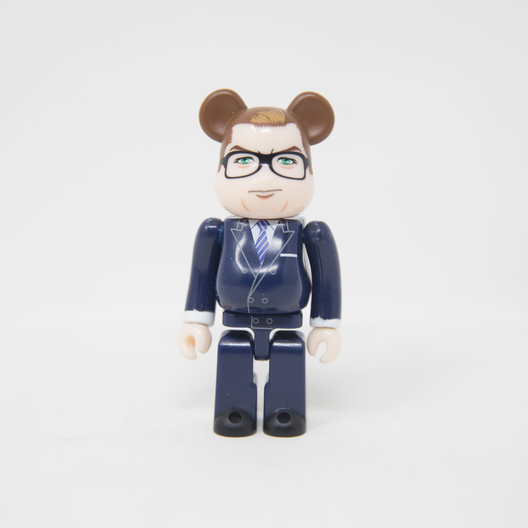 Medicom Toy BEARBRICK Eggsy / Kingsman: The Secret Service - Hero SECRET Series 36 100% Figure (MINT)