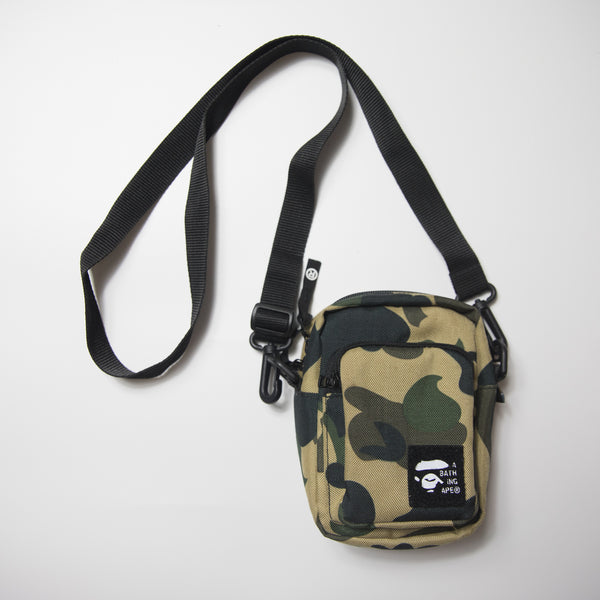 Bape Yellow Camo Shoulder Bag (USED)