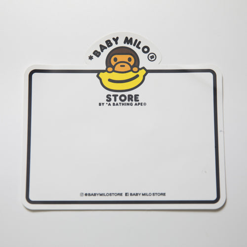 Bape Milo Notes Sticker (MINT)