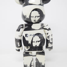 Medicom Toy x Bearbrick x Andy Warhol Double Mona Lisa 400% Figure (MINT)