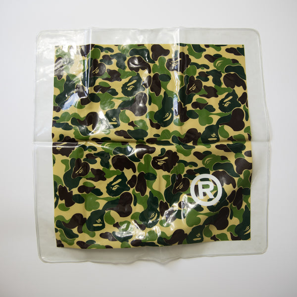 Bape Inflatable Green Camo Pillow (USED)