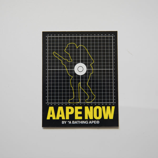 Aape Now Sticker (MINT)