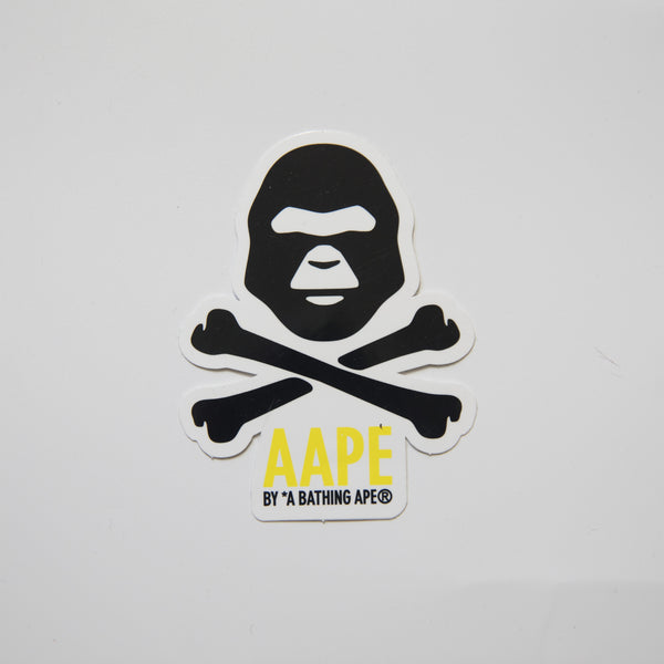 Aape Cross Bones Sticker (MINT)