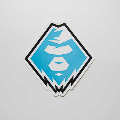 Aape Head Blue Sticker (MINT)